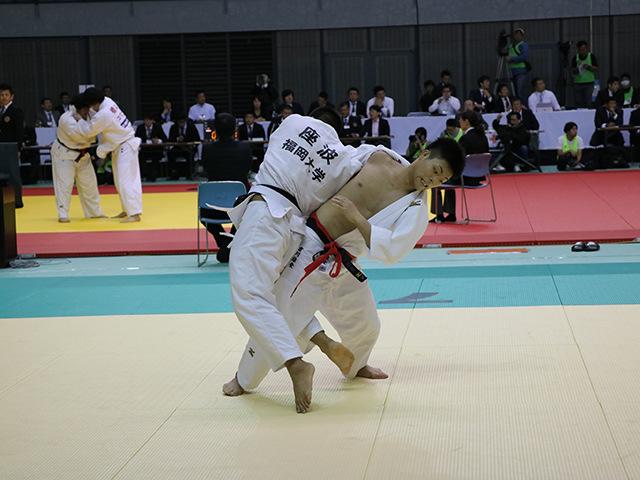 男子81kg級 1回戦 吉川雄登 vs 座波吉平