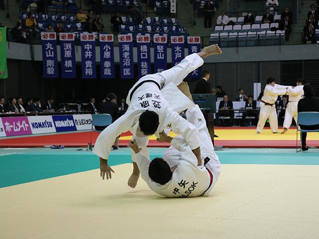 男子81kg級 1回戦 中矢力 vs 笠原大雅