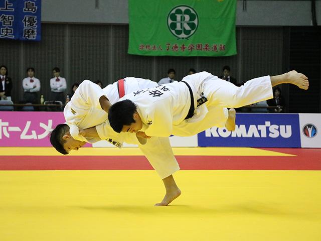 男子81kg級 小原拳哉 vs 佐々木健志