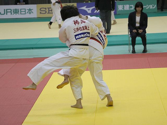 女子70kg級 3回戦 前田奈恵子 vs 柿澤史歩�A