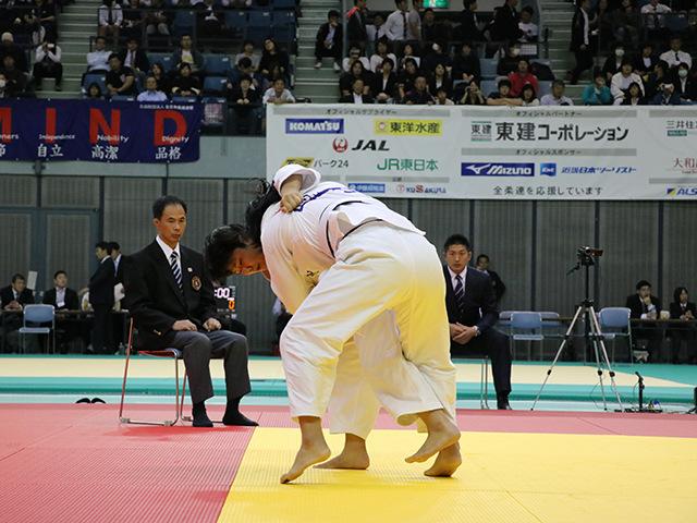 女子78kg級 準決勝戦 和田梨乃子 vs 泉真生�@