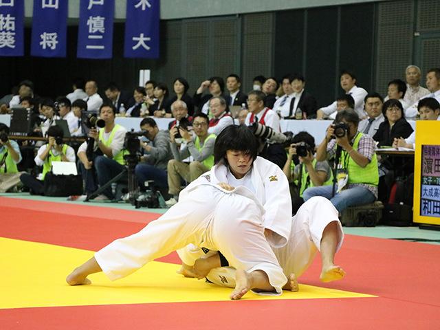 女子78kg級 決勝戦 �M田尚里 vs 和田梨乃子�@