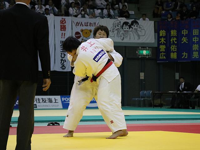 女子78kg超級 準決勝戦 井上あかり vs 稲森奈見�@