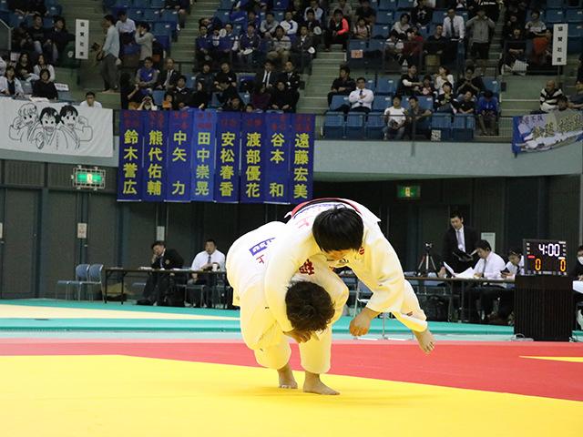 女子78kg超級 準決勝戦 井上あかり vs 稲森奈見�A