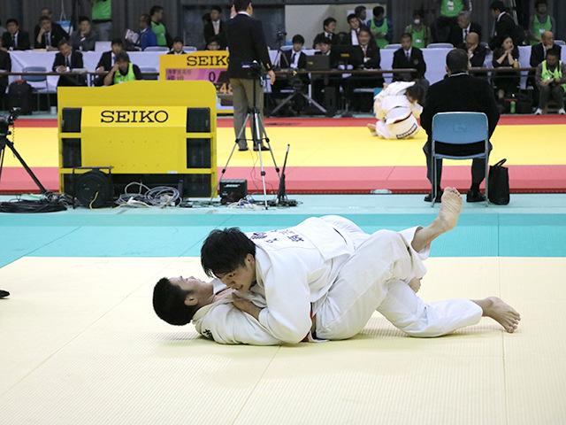 男子90kg級 2回戦 安達健太 vs 田嶋剛希�A