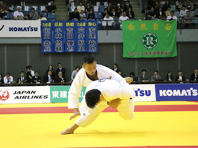 男子90kg級 決勝戦 向翔一郎 vs 釘丸太一�@