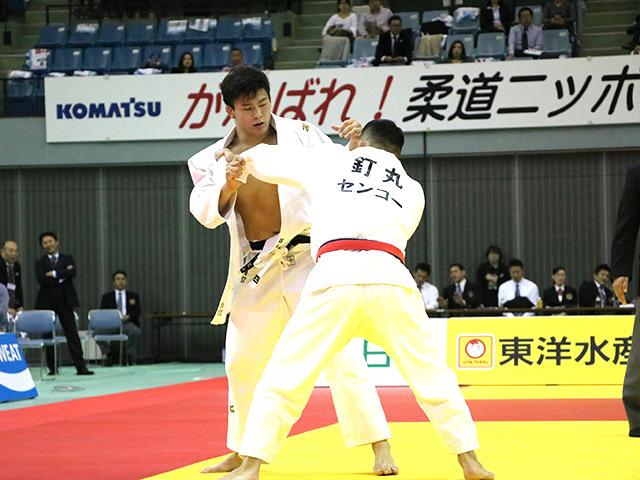 男子90kg級 決勝戦 向翔一郎 vs 釘丸太一�A
