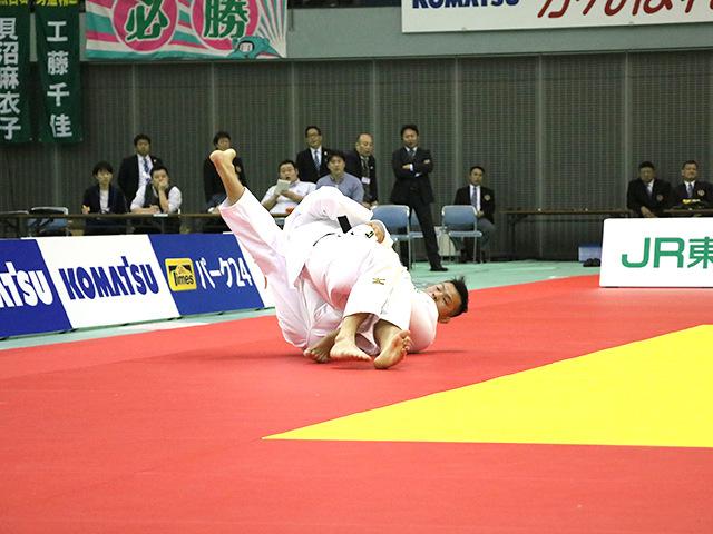 男子90kg級 決勝戦 向翔一郎 vs 釘丸太一�B