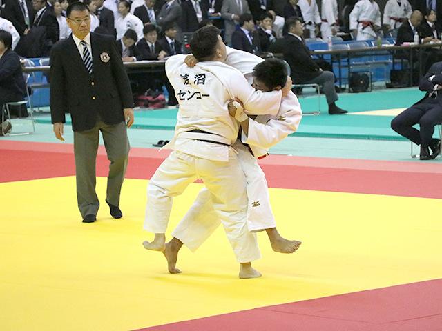 男子100kg級 1回戦 関根聖隆 vs 古田伸悟�@