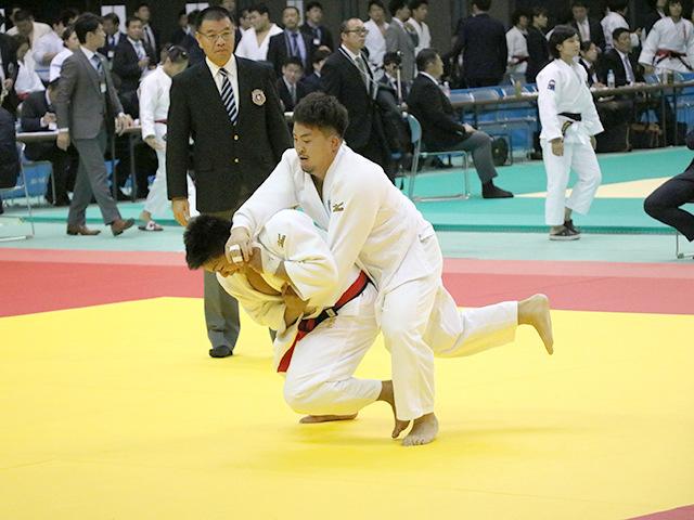 男子100kg級 1回戦 関根聖隆 vs 古田伸悟�A