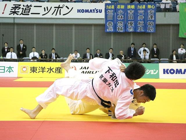 男子100kg級 決勝戦 飯田健太郎 vs 下和田翔平�A