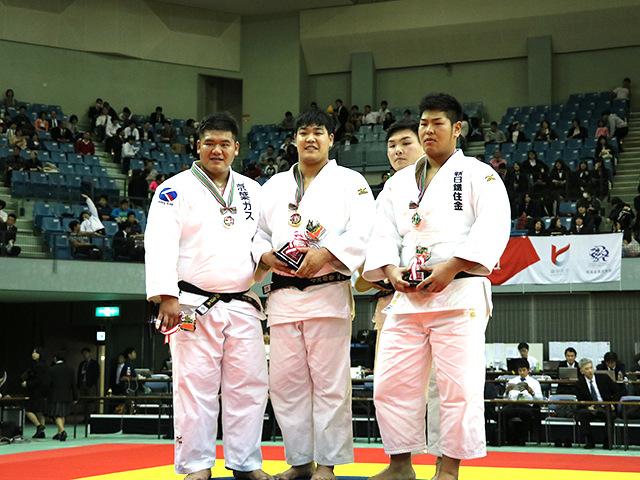 男子100kg超級表彰式