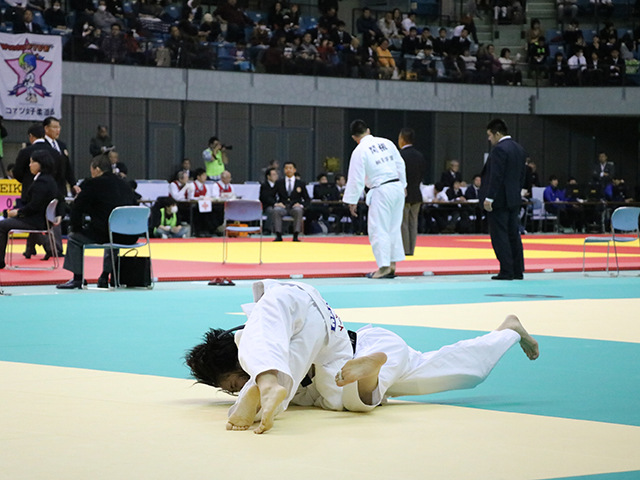 女子48kg級 1回戦 松尾美沙 vs 安達沙緒里