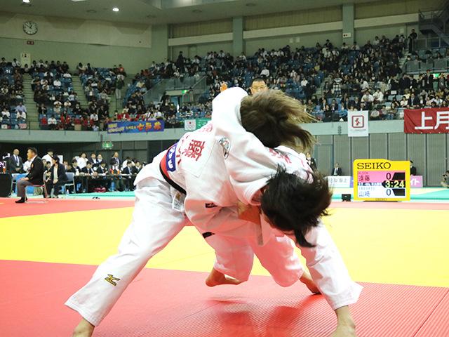女子48kg級 準決勝戦 遠藤宏美 vs 山崎珠美�@