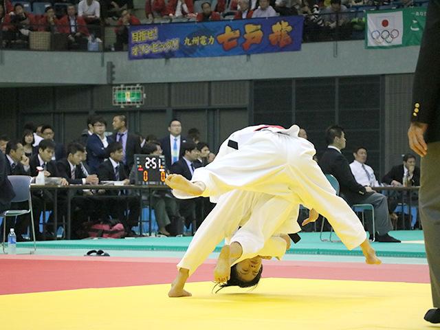 女子48kg級 準決勝戦 遠藤宏美 vs 山崎珠美�A
