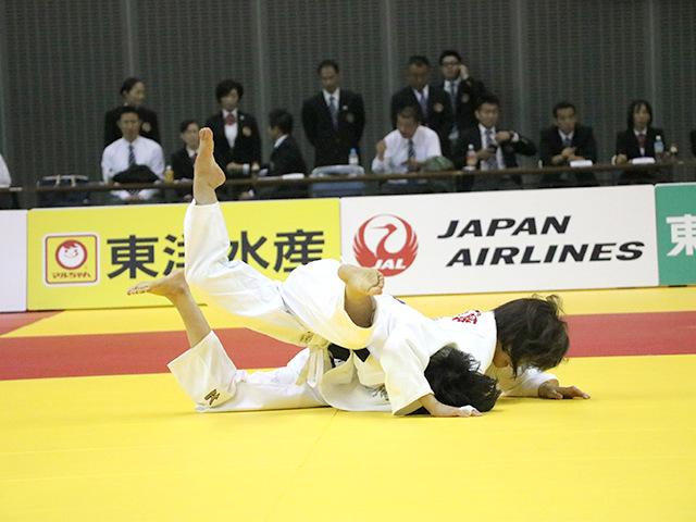 女子48kg級 遠藤宏美 vs 森崎由理江