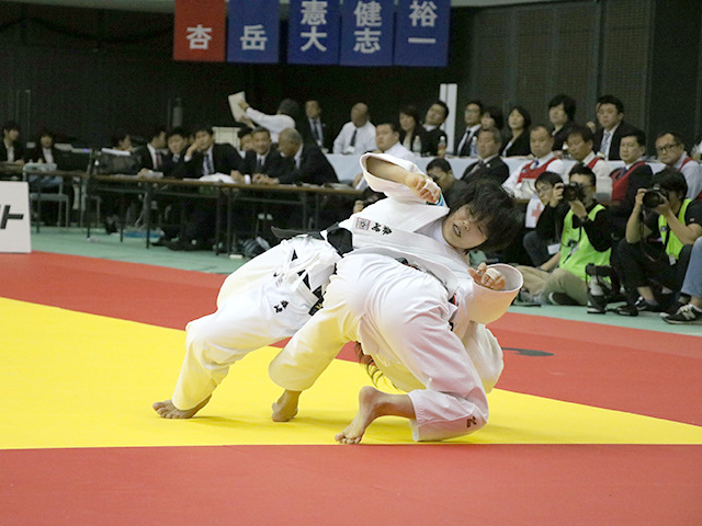 女子48kg級 決勝戦 遠藤宏美 vs 森崎由理江�A