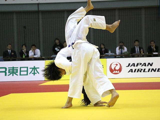 女子52kg級 阿部詩 vs 立川莉奈