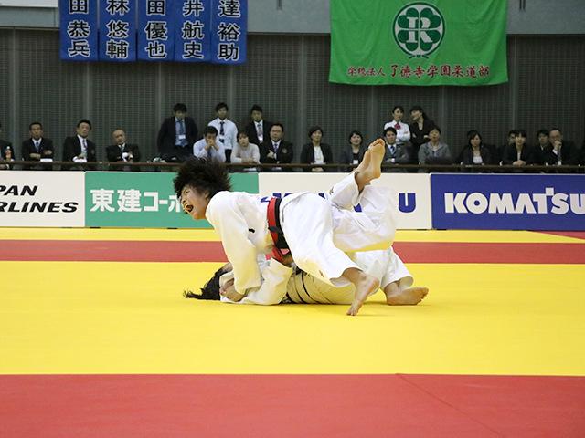 女子52kg級 決勝戦 阿部詩 vs 立川莉奈�B