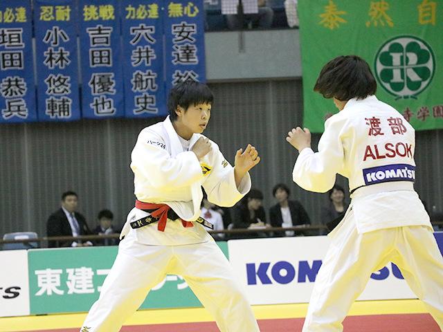 女子57kg級 決勝戦 山本杏 vs 渡部優花�@