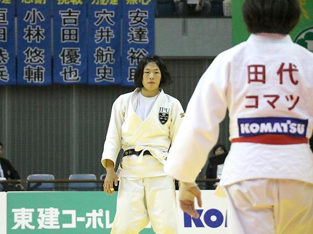 女子63kg級 決勝戦 田代未来 vs 土井雅子�@