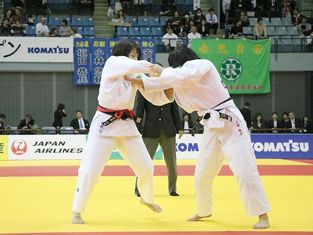 女子63kg級 決勝戦 田代未来 vs 土井雅子�A