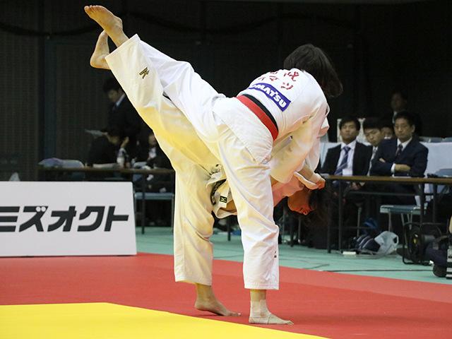 女子63kg級 決勝戦 田代未来 vs 土井雅子�C