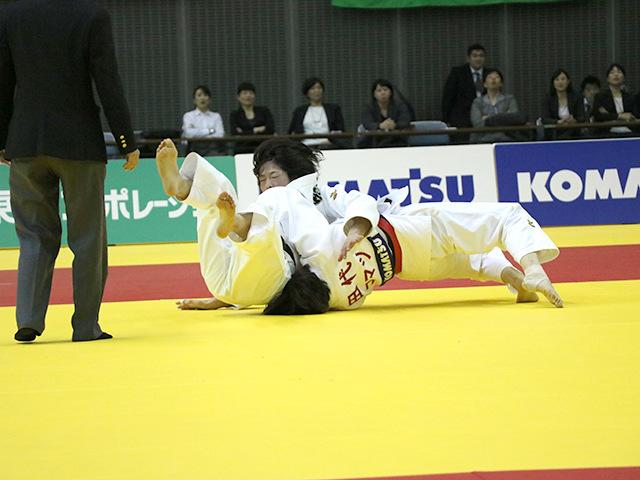 女子63kg級 決勝戦 田代未来 vs 土井雅子�D