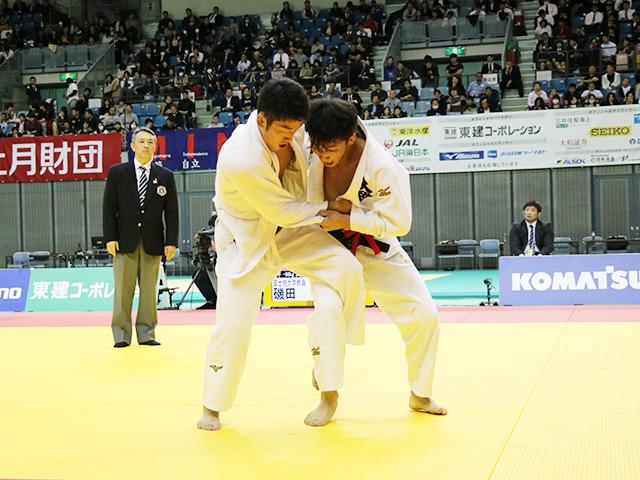 男子66kg級 藤阪太郎 vs 磯田範仁
