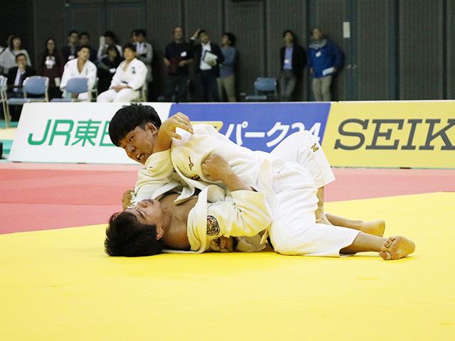 男子81kg級 佐藤正大 vs 小原挙哉
