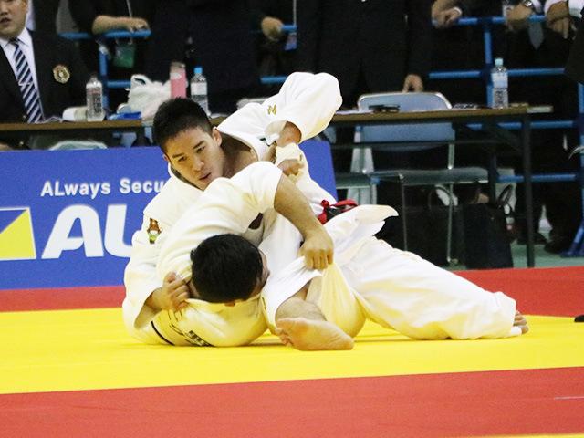 男子90kg級 1回戦 ベイカー茉秋 vs 北野裕一
