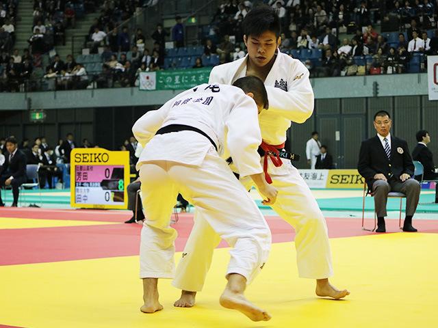 男子90kg級 準決勝戦 田嶋剛希 vs 村尾三四郎