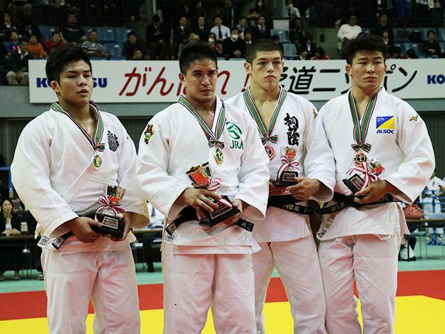 男子90kg級 表彰式