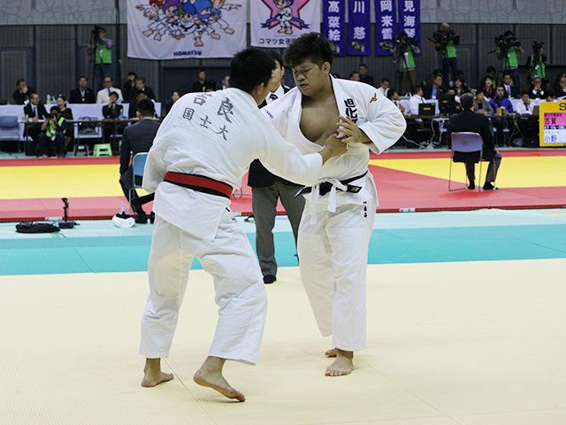 男子100kg級 2回戦 吉良儀城 vs 垣田恭兵