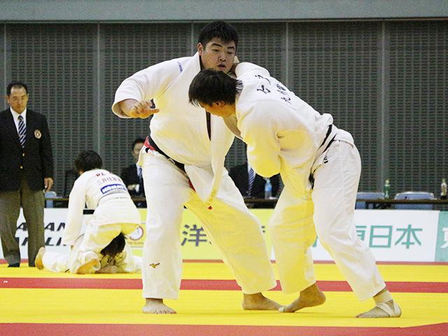 男子100kg超級 3回戦 王子谷剛志 vs 七戸龍