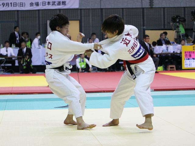 女子48kg級 2回戦 近藤亜美 vs 坂口仁美