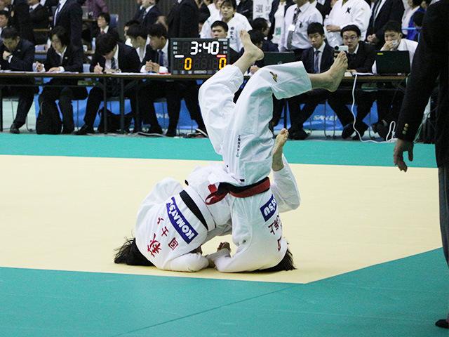 女子52kg級 2回戦 前田千島 vs 萩野乃花