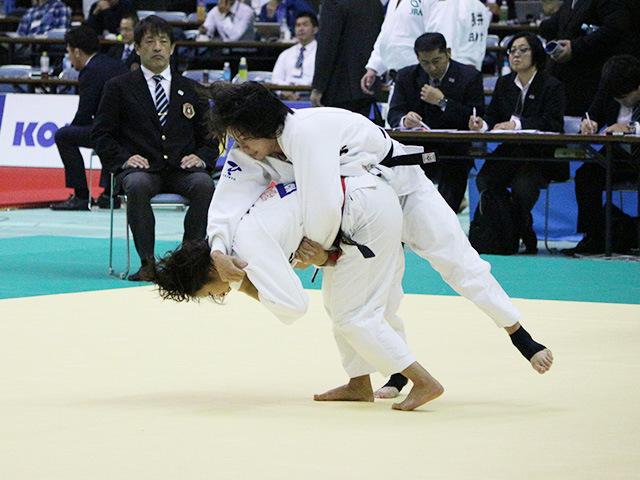 女子52kg級 3回戦 立川莉奈 vs 武田亮子