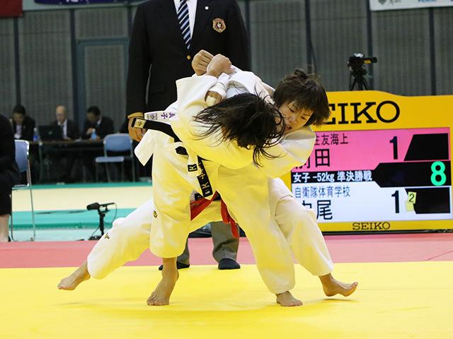 女子52kg級 前田千島 vs 内尾真子