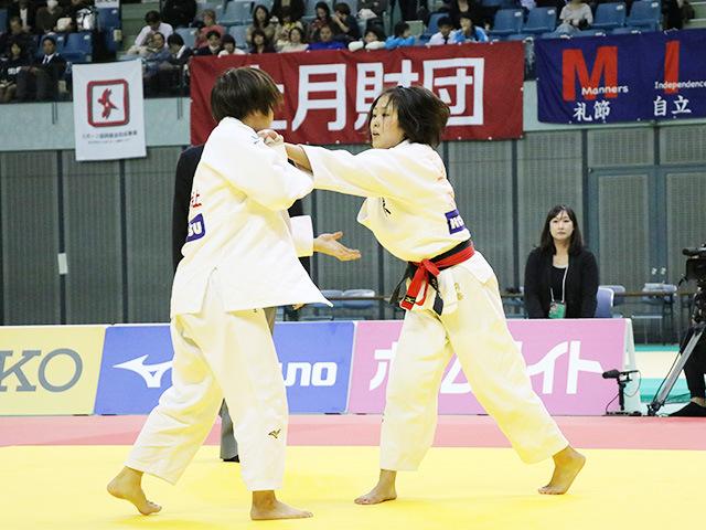 女子52kg級 決勝戦 立川莉奈 vs 前田千島�@