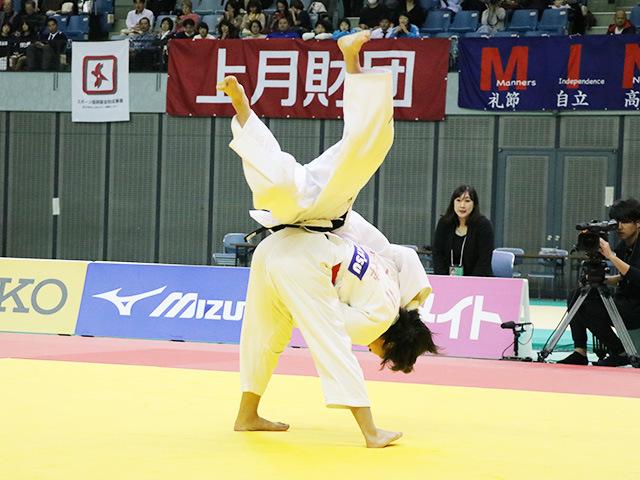女子52kg級 立川莉奈 vs 前田千島