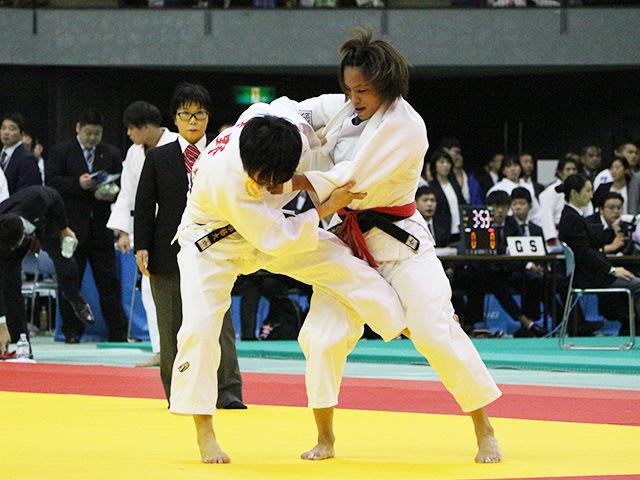 女子57kg級 1回戦 松本薫 vs 高野綺海