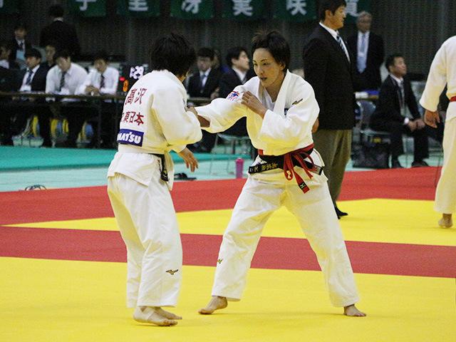 女子57kg級 2回戦 宇高菜絵 vs 高沢眞冴