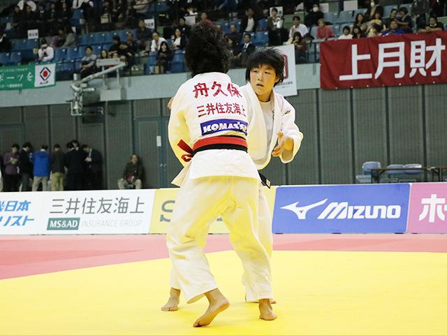 女子57kg級 決勝戦 舟久保遥香 vs 富沢佳奈�@