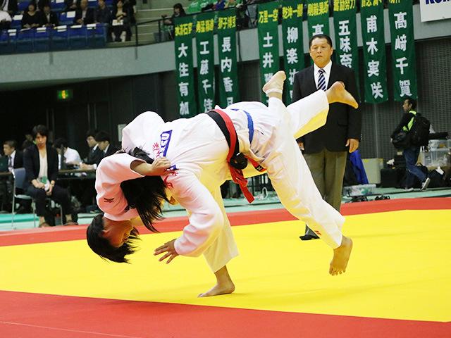 女子63kg級 1回戦 中村紫苑 vs 大石野乃