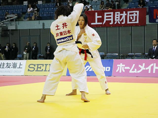 女子63kg級 決勝戦 幸田奈々 vs 土井雅子�@