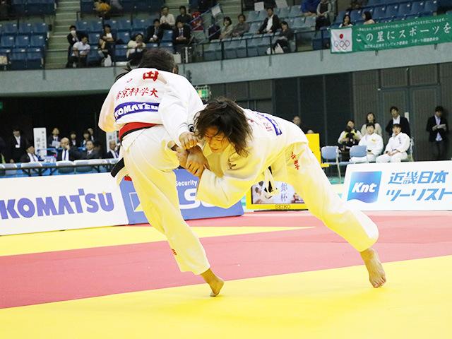 女子63kg級 幸田奈々 vs 土井雅子