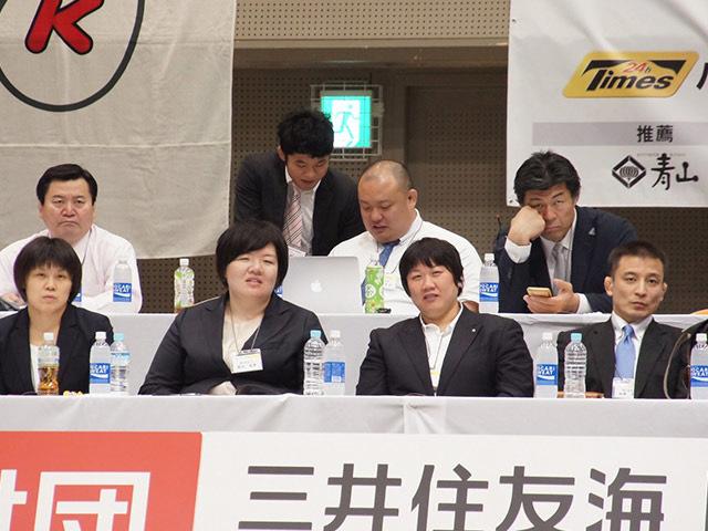 全日本柔道連盟コーチ陣