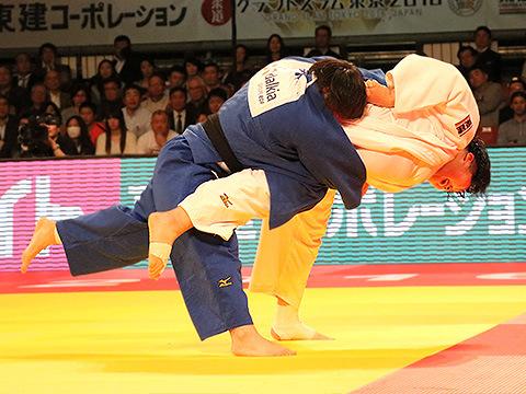 柔道グランドスラム2016 女子78kg超級 決勝 朝比奈沙羅 vs 素根輝