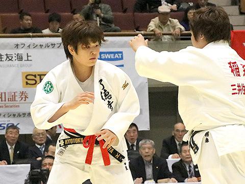 2017年皇后盃 3回戦 緒方亜香里 vs 稲森奈見